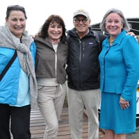 Buffetts Donate, Christen Gulf Coast Research Lab Vessel