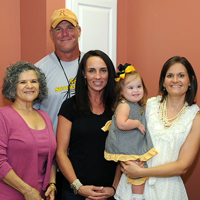 Favre Foundation's Contributions to The Children's Center Top $200,000