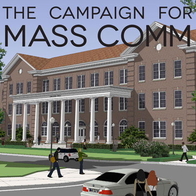 Campaign for Mass Comm to Help Transform Historic College Hall into Innovative Learning Facility