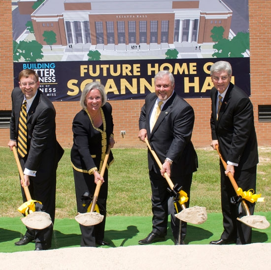 Southern Miss Breaks Ground on New Home for College of Business